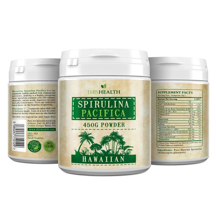 Hawaiian Spirulina Pacifica powder - This Health