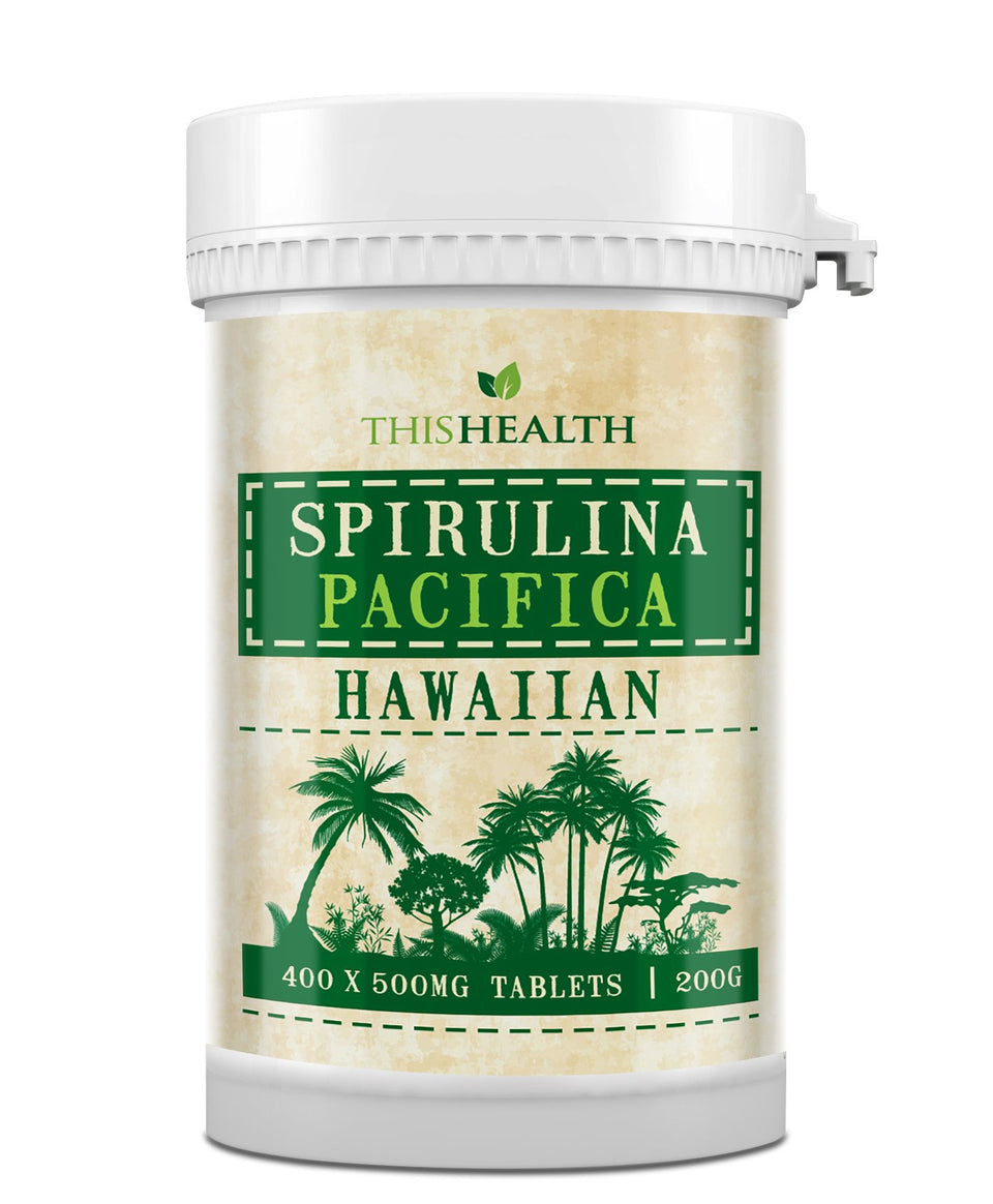 Hawaiian Spirulina Pacifica Tablets