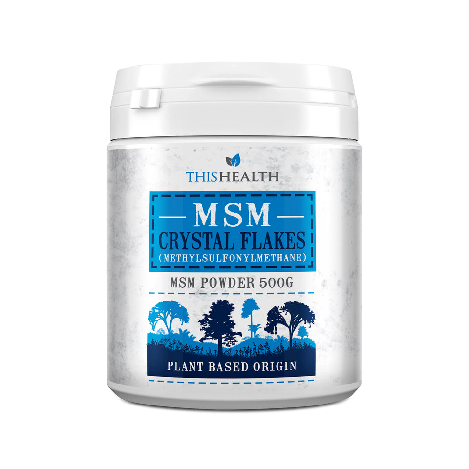 MSM 500g - Canadian Crystal Flakes