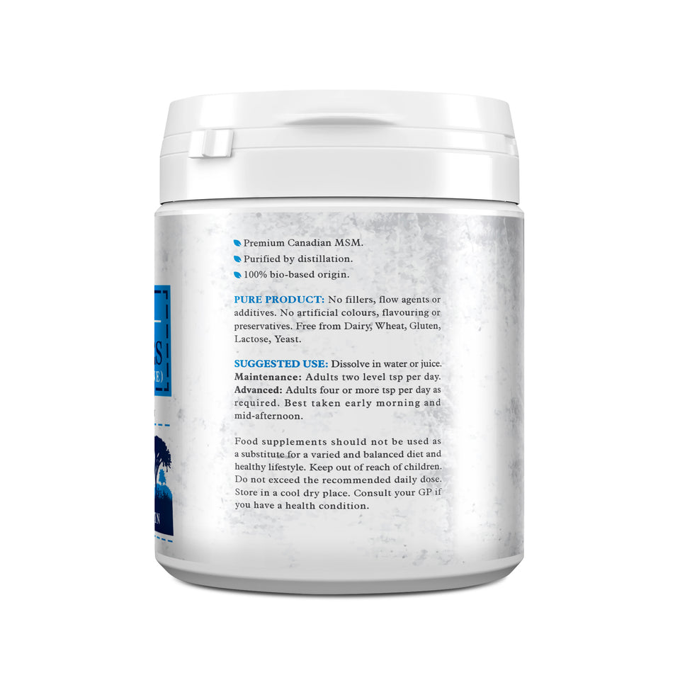 MSM 500g - Canadian Crystal Flakes - This Health