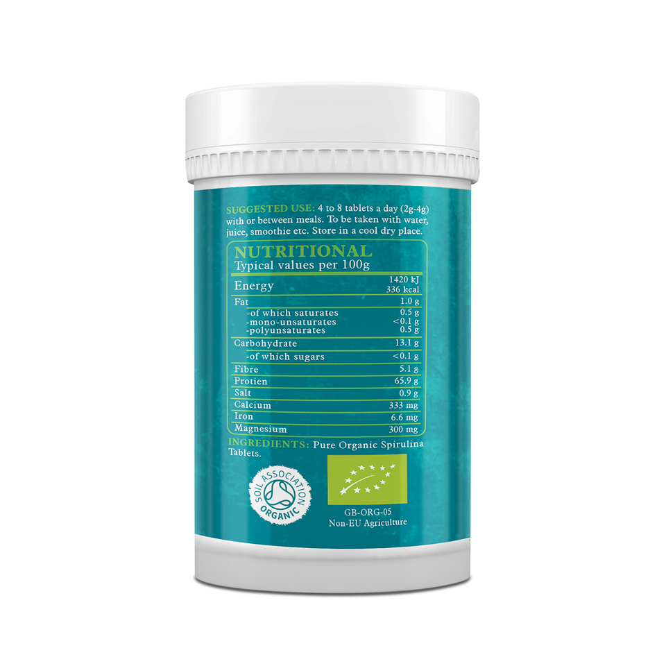Organic Spirulina Tablets - This Health