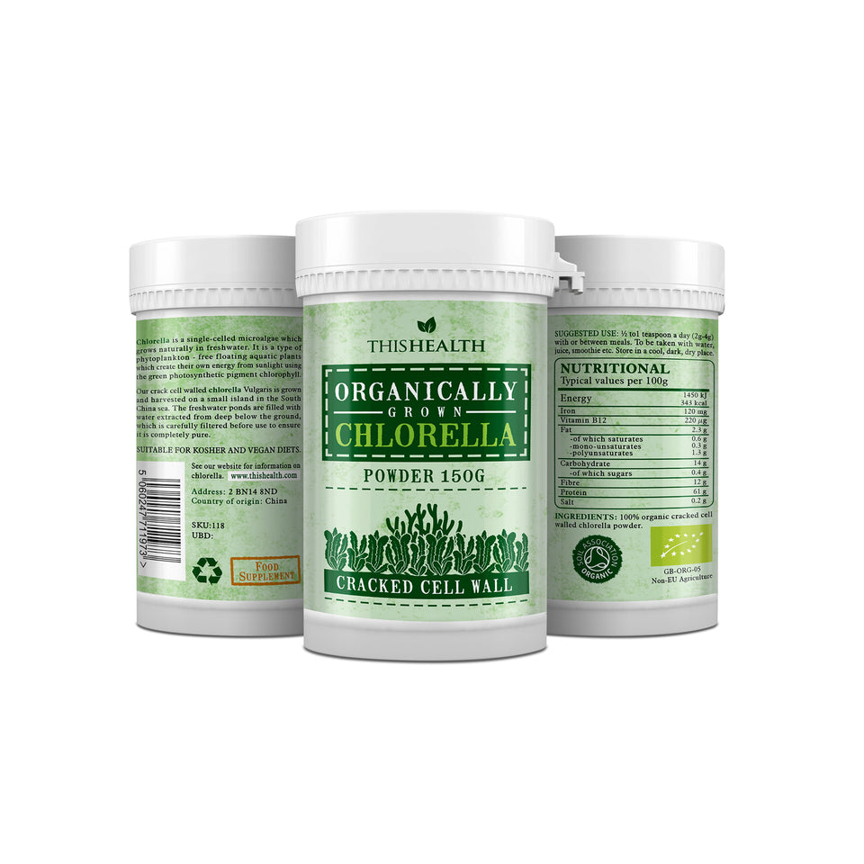 Organic clorella Tablet - This Health