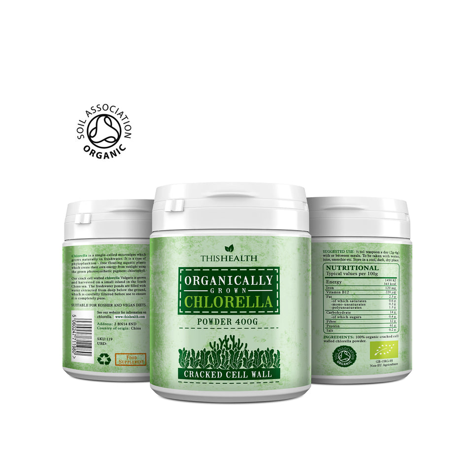 Organic Chlorella Powder - This Health