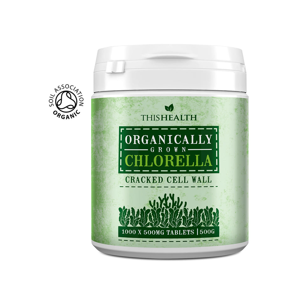Organic Chlorella Tablets - This Health