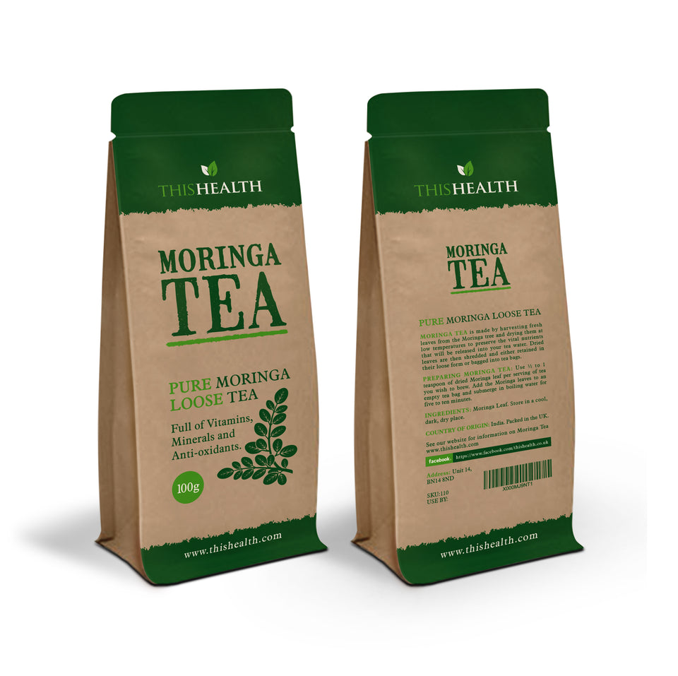 Moringa Loose Tea