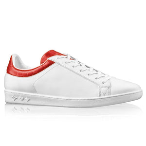 Louis Vuitton Red Luxembourg Sneaker