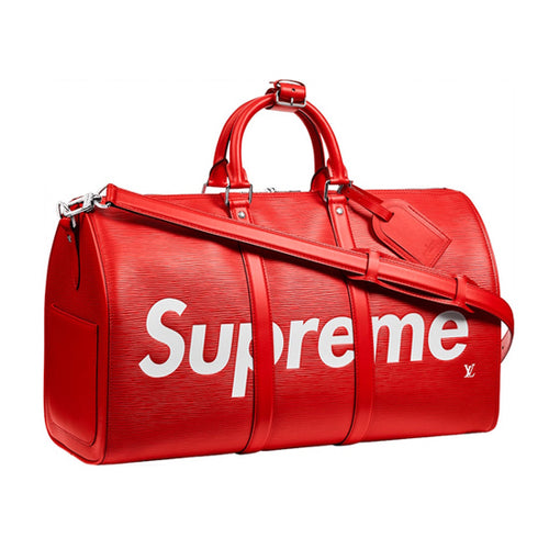 Louis Vuitton x Supreme Keepall Bandouliere 45 Epi Leather 2 colors