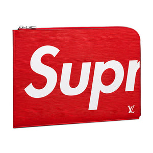 Louis Vuitton x Supreme Pochette Jour GM Epi Leather 2 colors
