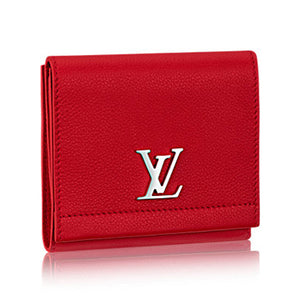 Louis Vuitton Lockme II Compact Wallet Taurillon Leather 3 colors
