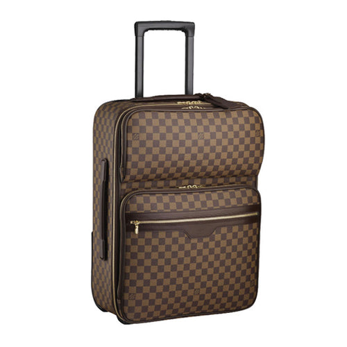 Louis Vuitton Pegase Legere 55 Business Damier Ebene Canvas