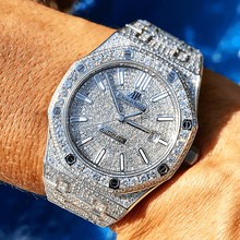 Audemars Piguet Royal Oak 41mm Steel Full Diamond