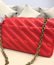Balenciaga Blanket Chain Wallet Red