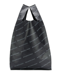 Balenciaga Supermarket Shopper M Black - hn4us