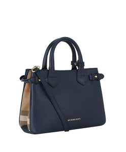 fd00d498234 Burberry Medium Banner House Check Leather Tote 5 colors – q8moda