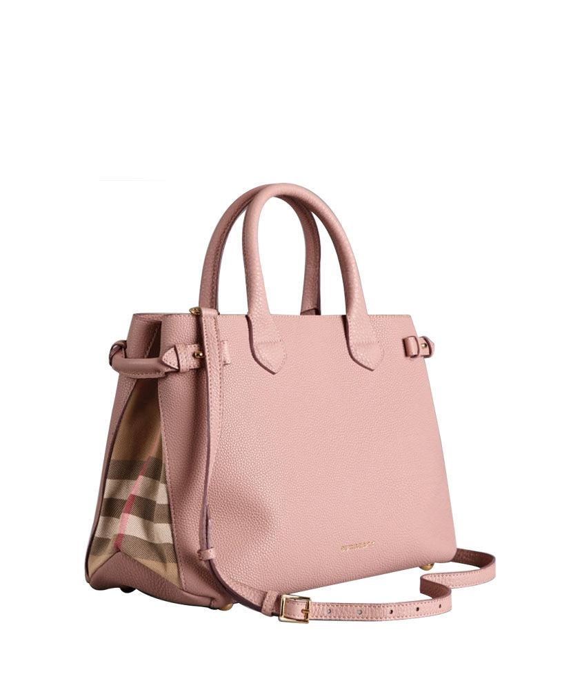 3074d3b889 Burberry Medium Banner House Check Leather Tote 5 colors – q8moda