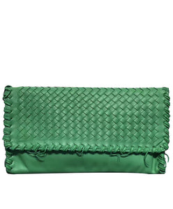 Bottega Veneta Woven Lambskin Clutch Bag 9 colors