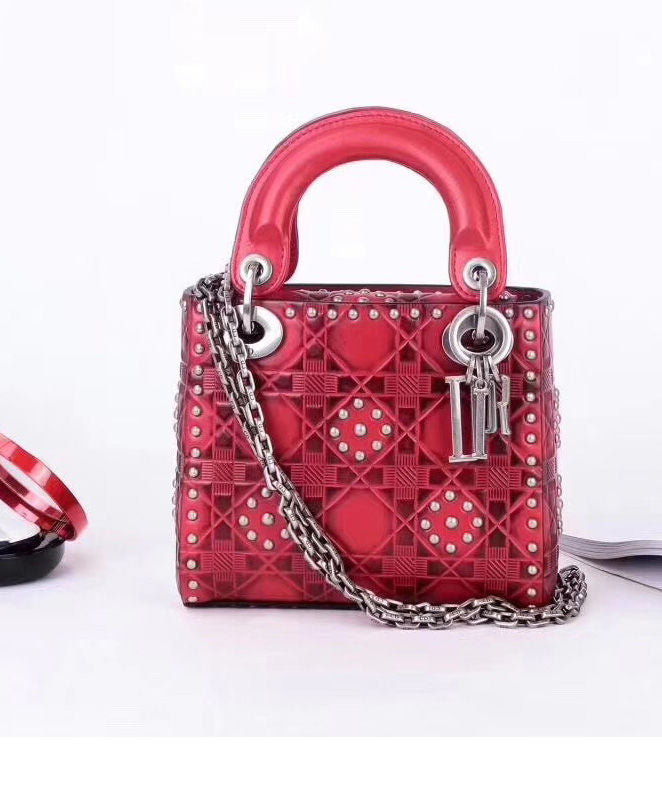 ... Christian Dior Lady Dior supple bag in calfskin leather 2 colors -  hn4us ... 327975b51d66d