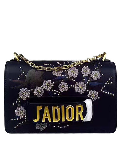 Christian Dior J'ADIOR Flap Bag With Cherry Blossoms