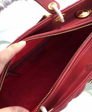 Christian Dior Lady Dior Large Classic Tote Bag With Lambskin 4 colors
