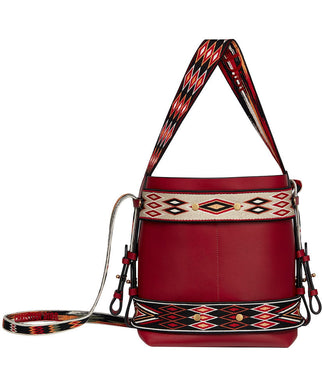 Christian Dior Diorodeo Hobo Bag Red