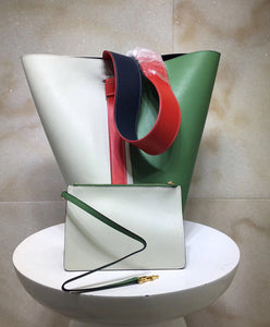 Celine Small Twisted Cabas Green