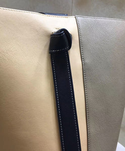 Celine Small Twisted Cabas Gray