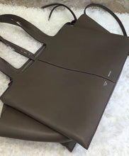 Celine Tri-Fold Shoulder Bag Gray