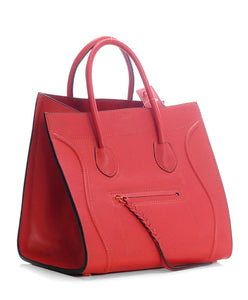 Celine Luggage Phantom Red