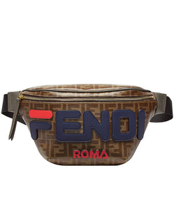 Fendi Multicolour Canvas Belt Bag Blue