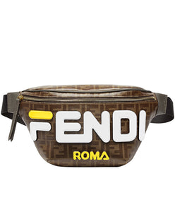 Fendi Multicolour Canvas Belt Bag White
