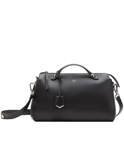 Fendi By The Way Boston Bag 2 Size Black