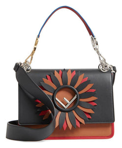 Fendi Women's Kan I F Tote Bag Coffee