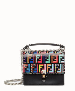 Fendi Small Kan I Mini Bag Black