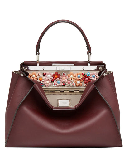 Fendi Peekaboo Regular Exotic leather bag