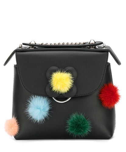 Fendi Mini Backpack Black