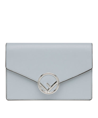 Fendi Wallet On Chain Leather Mini-Bag L Blue