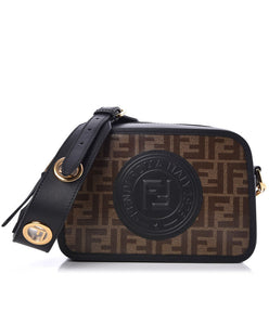 FENDI Camera Case Monogram Black