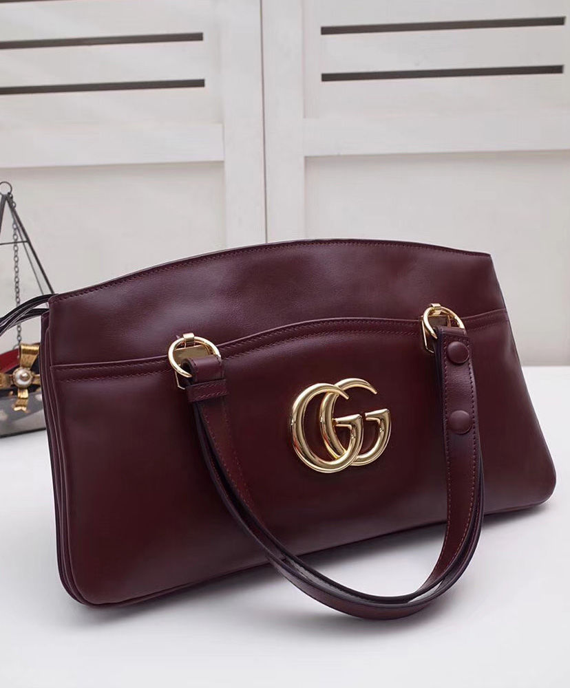 6c7fb06daeb8 ... Gucci Arli Large Top Handle Bag Mauve - hn4us ...