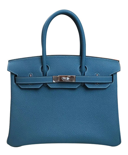 Hermes Birkin 30 Togo Leather Blue