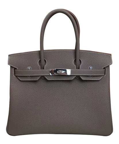 Hermes Birkin 30 Togo Leather Dark Gray