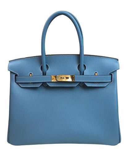 Hermes Birkin 30 Epsom Leather Blue