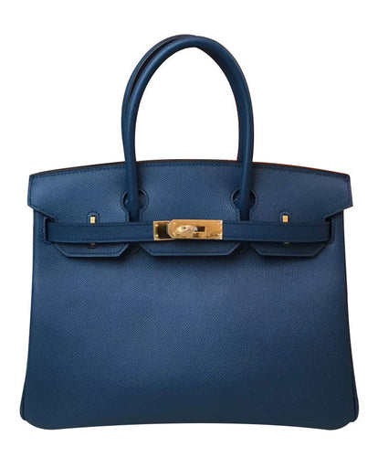 Hermes Birkin 30 Epsom Leather Dark Blue