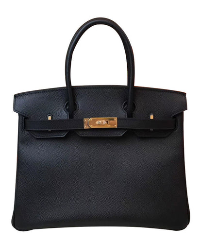 Hermes Birkin 30 Epsom Leather Black