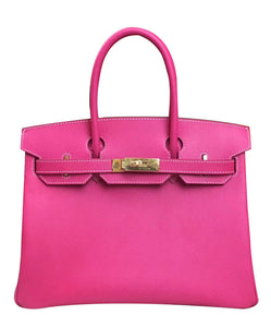Hermes Birkin 30 Epsom Leather Peachblow