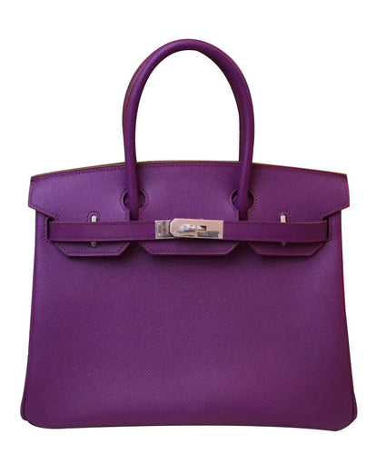 Hermes Birkin 30 Epsom Leather Purple