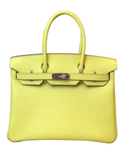 Hermes Birkin 30 Epsom Leather Yellow