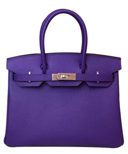 Hermes Birkin 30 Epsom Leather Paon Phw 2 colors