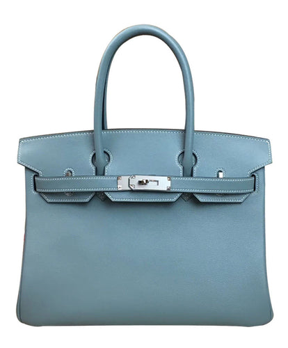 Hermes Birkin 30 Swift Leather Light Blue
