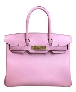Hermes Birkin 30 Swift Leather Pink