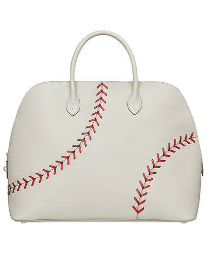 Hermes Bolide 1923 - 45 Baseball Bag White